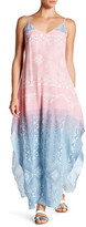 Charlie Jade Print Silk Ombre Maxi Dress