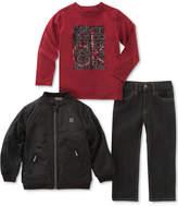 Calvin Klein 3-Pc. Jacket, T-Shirt & Jeans Set, Baby Boys