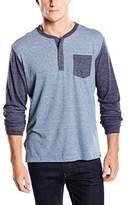 Eddie Bauer Men's Button down Long Sleeve Long-Sleeved Shirt - Blue