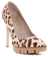 Donald J Pliner Endiva Genuine Calf Hair Platform Pump