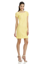 Maggy London Eyelet T-Shirt Dress