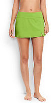 Classic Women's Petite Mini SwimMini Skirt Control-Limeade Green