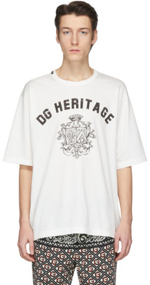Dolce & Gabbana Off-White Heritage T-Shirt