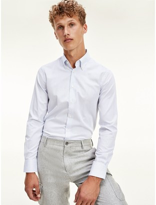 Tommy Hilfiger Slim Fit Twill Dress Shirt