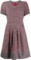 Flared Tweed Dress