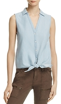 Soft Joie Creta Sleeveless Tied Waist Shirt - 100% Exclusive