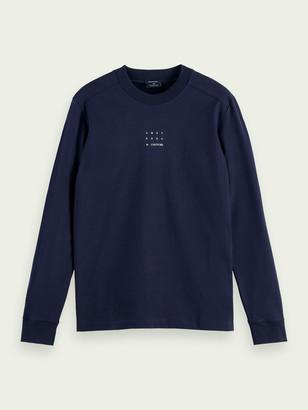 Scotch & Soda Long-sleeved organic cotton T-shirt | Men