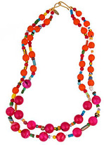 Wendy Mink Tribal Inspired Necklace
