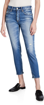 Moussy Velma Cropped Skinny Jeans
