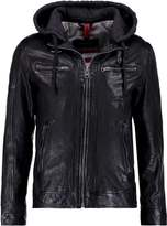 Oakwood Mojito Sun Leather Jacket Black