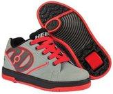 Heelys Boys Propel 2.0 (Little Kid/Big Kid/Adult) Grey/Red/Black Sneaker Mens M