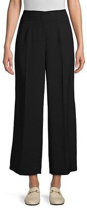 Lafayette 148 New York Downing Finesse Crepe Side Slit Pants