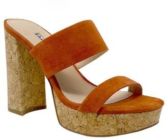 Charles by Charles David Charles David Leather Slip-On Block Heel Pumps- Jinx