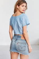 Urban Renewal Remade Denim Mini Skirt