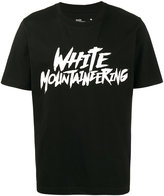 White Mountaineering Raw logo printed t shirt