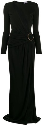 Elisabetta Franchi Asymmetric Cut-Out Dress