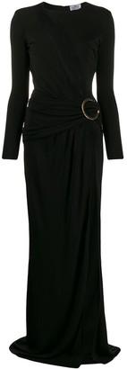 Elisabetta Franchi asymmetric cut-out dress