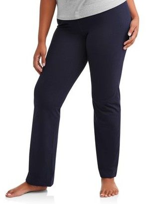 Athletic Works Women's Dri More Core Athleisure Bootcut Yoga Pant Available in Regular and Petite
