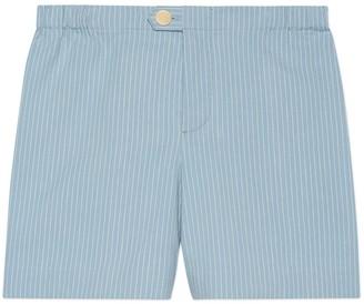 Gucci Children's striped cotton short