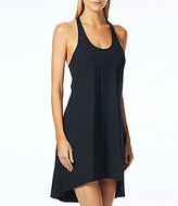 Beach House Sport Solid Delia Hi-Low Sun Dress Cover-Up
