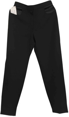 Pallas Black Synthetic Trousers