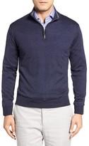 Peter Millar Men's Merino Wool Quarter Zip Sweater