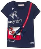 Desigual Girl's TS_earwig T-Shirt,(Manufacturer Size: 5/6)