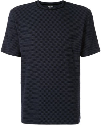 Giorgio Armani basic textured T-shirt