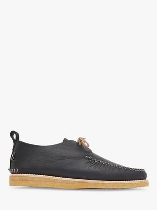 Yogi Lawson Tumbled Leather Moccasin Shoes