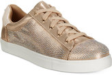 Material Girl Elanie Lace-Up Sneakers, Only at Macy's