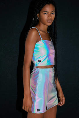 Urban Outfitters Miley Reflective Mini Skirt