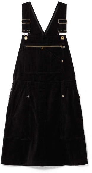 McQ Chenille Mini Dress - Black