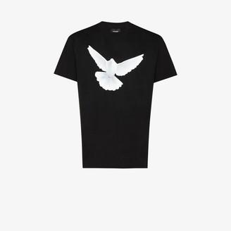 3paradis X Homecoming bird print T-shirt