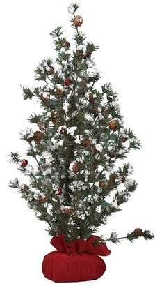 Transpac Large Tree In Gift Bag W/Berries