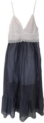 Sandro Spring Summer 2019 Navy Cotton Dress for Women