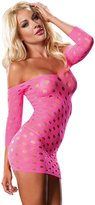 Leg Avenue Women's Seamless Pothole Mini Dress