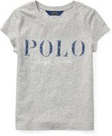 Ralph Lauren 7-16 Polo Cotton Jersey Graphic Tee