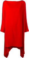 Gianluca Capannolo draped oversized dress - women - Acetate/Viscose - 38