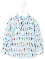 Paul Smith people print T-shirt
