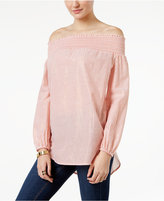 MICHAEL Michael Kors Off-The-Shoulder Top