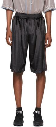 Landlord Black Jersey Baseball Shorts