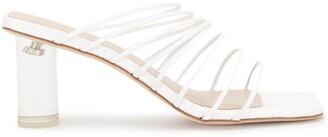 REJINA PYO Transparent Heel Sandals