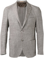 Corneliani patch pockets blazer - men - Linen/Flax/Acetate/Viscose/Virgin Wool - 52