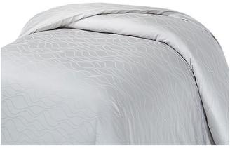 Natural Comfort Premier Hotel Select Wave Duvet Cover, Misty Gray, Kin
