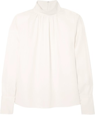 Marc Jacobs Silk-crepe Blouse