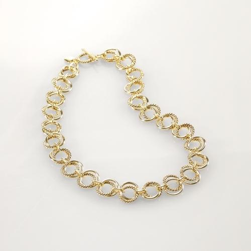 Ralph Lauren Gold Link Necklace