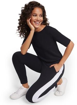 New York & Co. Zipper-Back Jumpsuit