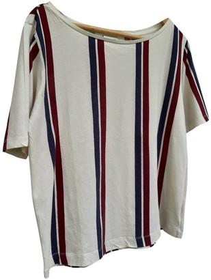 Dries Van Noten Beige Cotton Top for Women