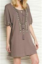 Easel Embroidered Dress