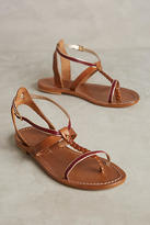 Anthropologie Capri Positano Faro Braided Sandals